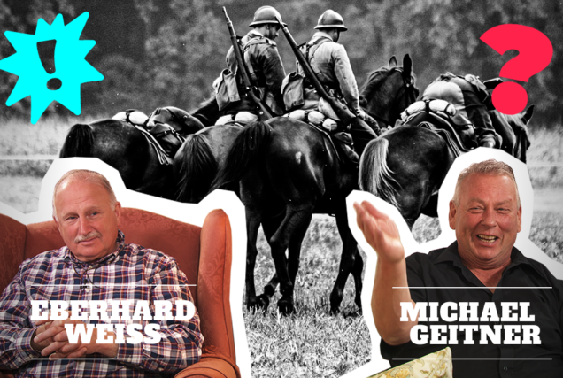 Eberhard Weiß und Michael Geitner bringen altes Wissen zurück. Sie reden über Pferdeausbildung in der Kavallerie, die Geschichte der Vollblutzucht oder deutsches Horsemanship.