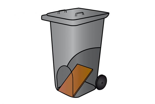 Günstige Heu-Aufbewahrung? Das kannst du haben! Nimm einfach deine Mülltonne zur Hand und funktioniere sie um.
