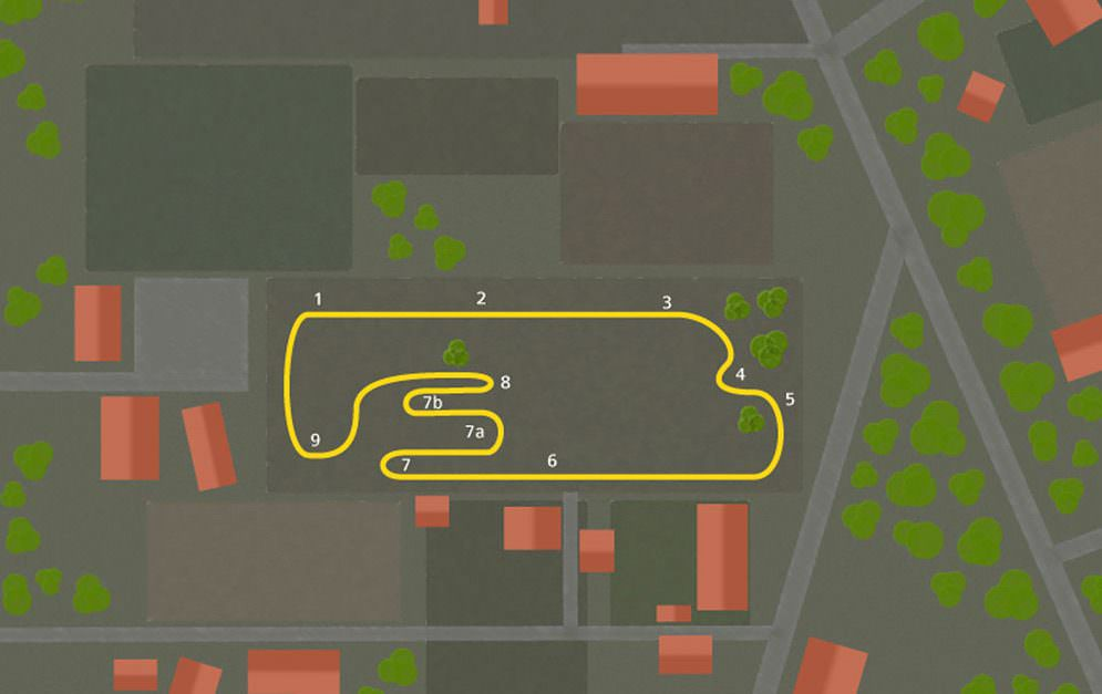 Hier die Theorie, wie genau wir unseren Paddock Trail geplant haben. Ob das in der Umsetzung dann klappt, werden wir sehen.