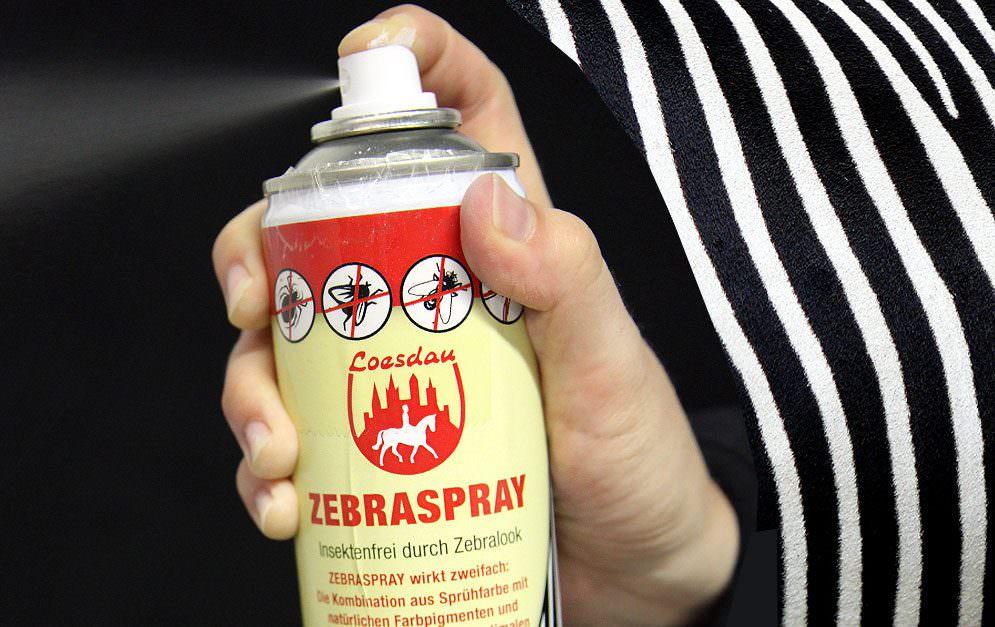 Das Zebraspray von Loesdau im Produkttest. © Diana Mohr/pixelio.de