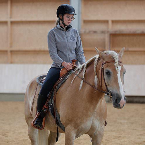 Die Franklin Methode hilft Reitern, ihren Sitz zu verbessern und die Körperwahrnehmung zu schulen.