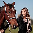 Nadine Scheel gibt Kurse in Natural Horsemanship und Freiheitsdressur.
