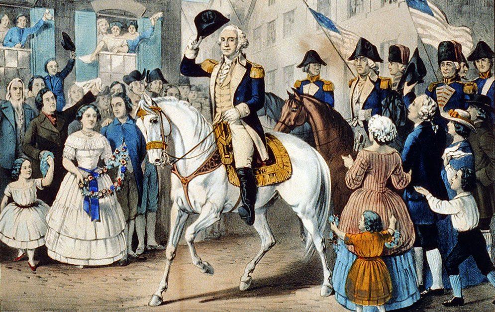 Guter Reiter, Pferdefreund, der wohl bedeutendste Gründervater und der erste Präsident der Vereinigten Staaten von Amerika - das war George Washington.