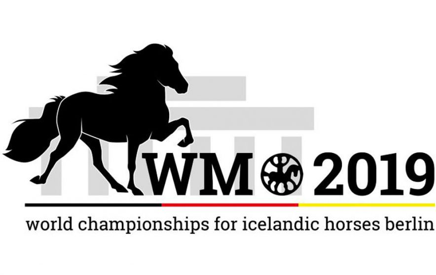Islandpferde WM Logo
