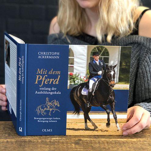Mit dem Pferd Christoph Ackermann