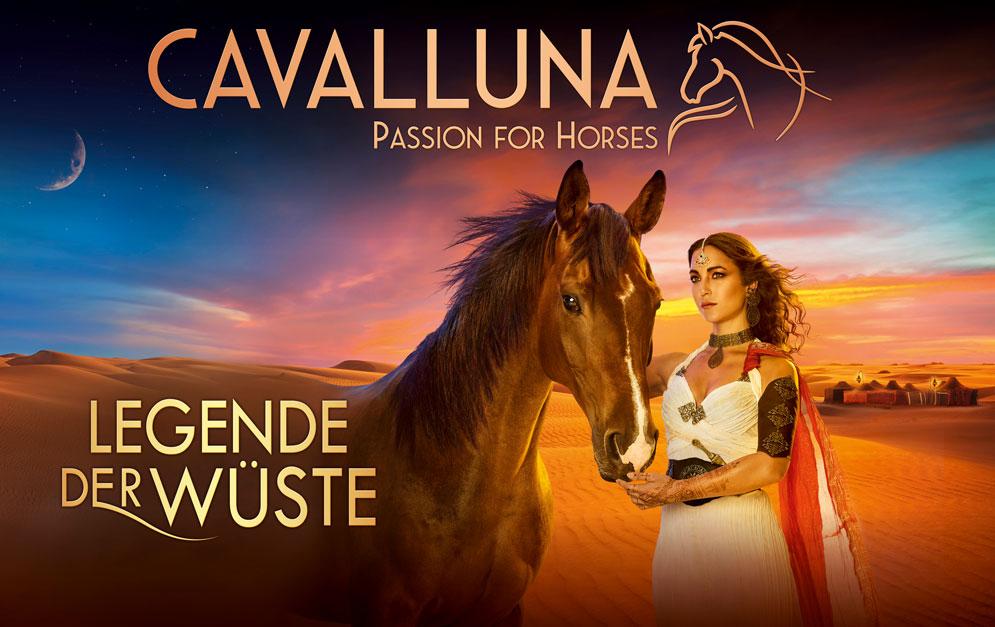 Kalender: Legende der Wüste - Pferdeshow