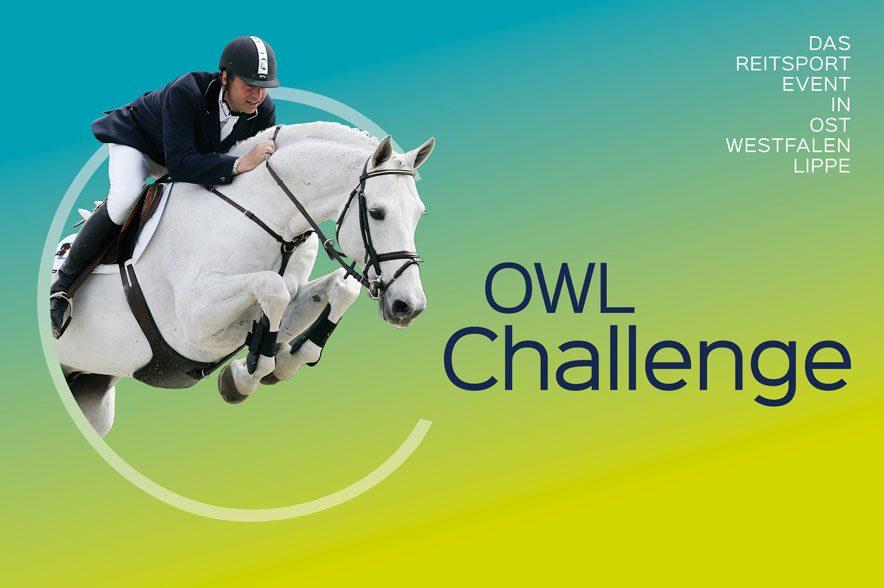 Namensänderung des Internationalen Springturniers: Die OWL Challenge ist über die Grenzen von Paderborn hinaus bekannt und gewachsen.