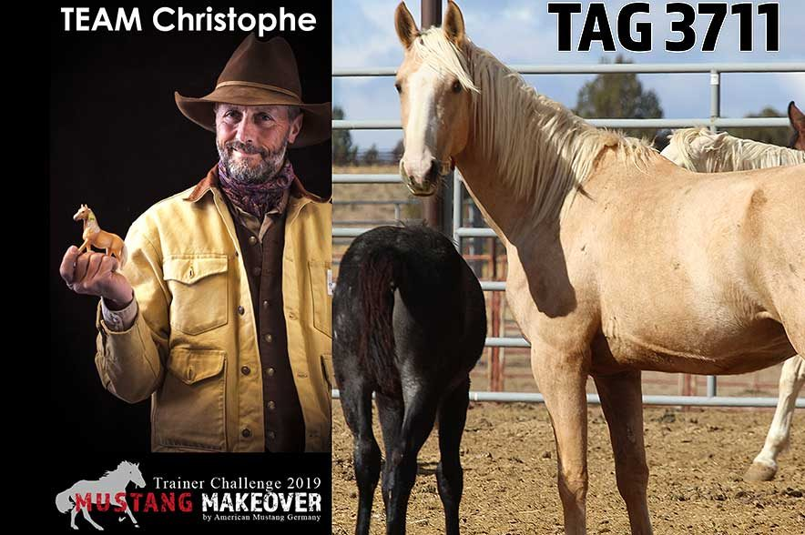 Mustang Makeover Auslosung: Team Christophe