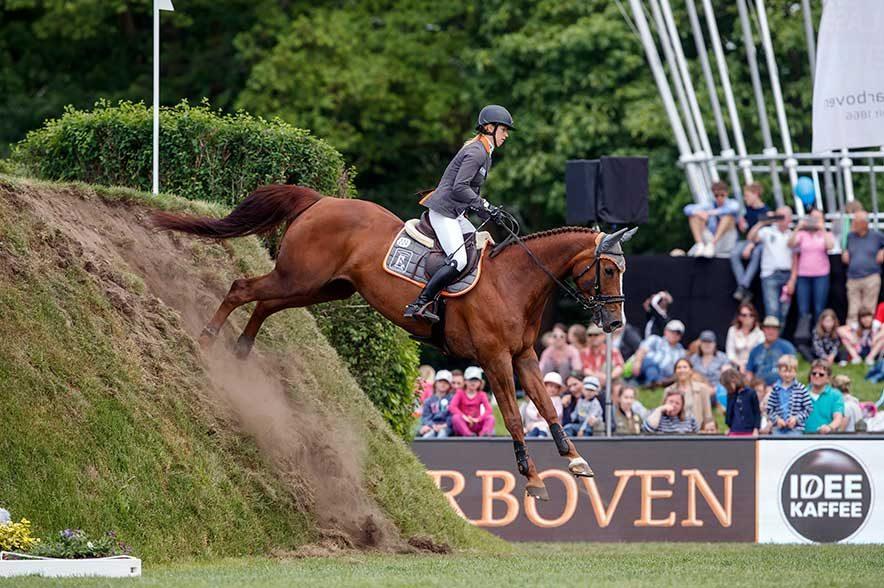 Vielseitigkeits-Weltmeisterin Sandra Auffarth will es mit Nupafeed's La Vista im Derby wieder wissen. © Sportfotos-Lafrentz.de