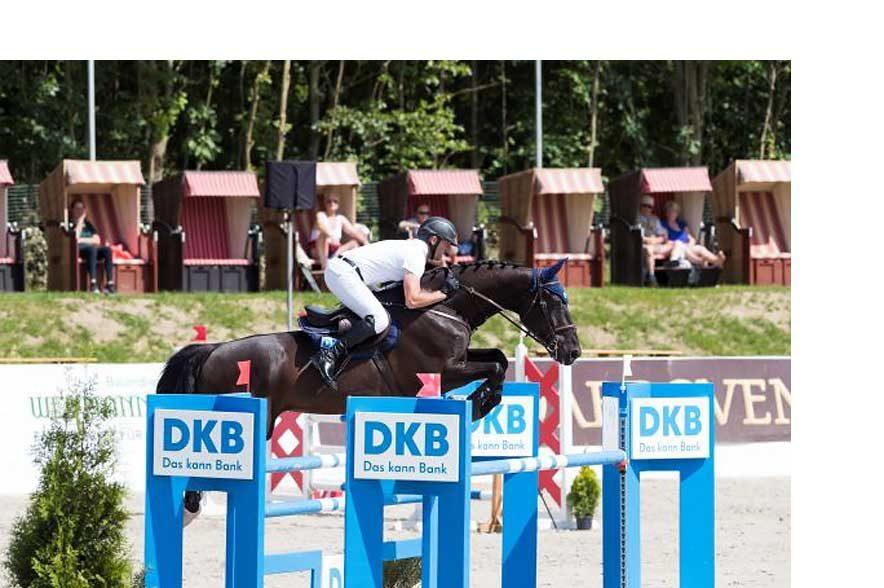 Holger Wulschner, internationaler Reiter und Veranstalter der DKB Pferdewoche Rostock. © Thomas Hellmann