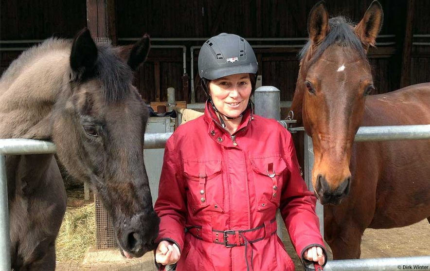 Veranstaltung: Weiterbildung Pferd: Pferdehaltung und Tierwohl mit Birgit Jostes. © Dirk Winter