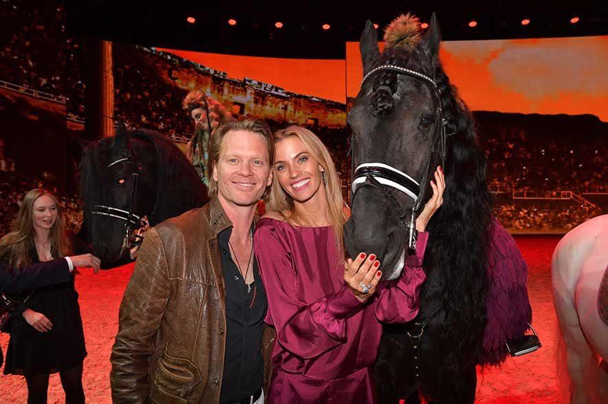 Mike und Coco Kraus. © Hannes Magerstaedt für Showpalast München