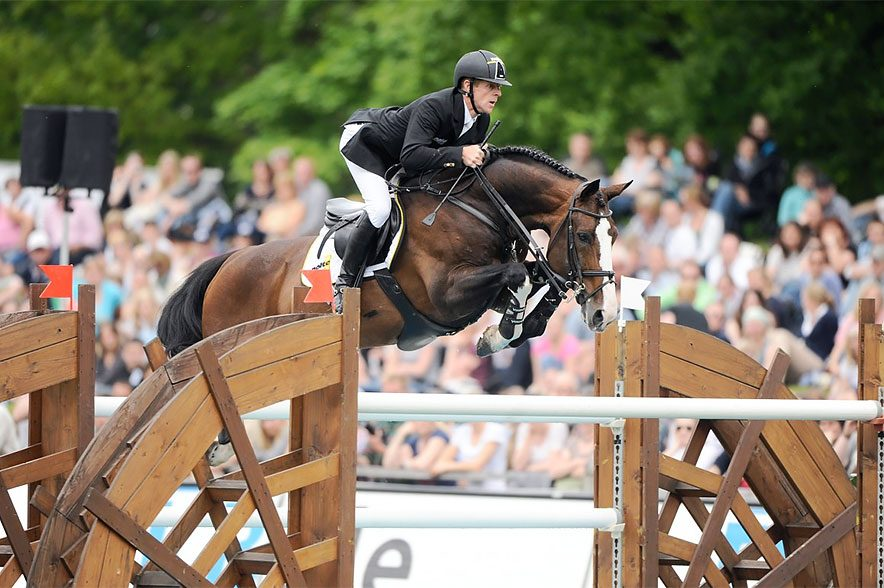 Das ehemalige Erfolgspferd von Marcus Ehning musste eingeschläfert werden. © www.sportpferde-ehning.com