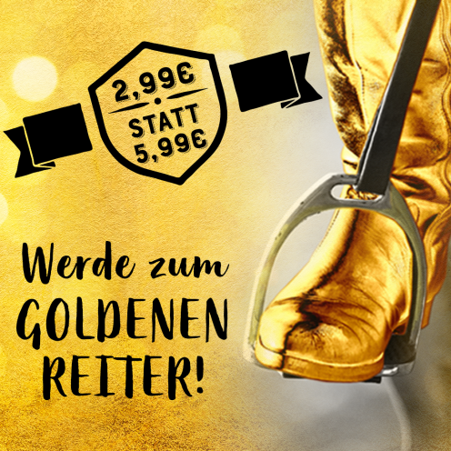 Werde GOLD-Mitglied und spare 50% auf die Jahresmitgliedschaft!