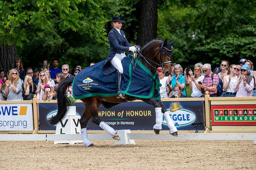 Dorothee Schneider und Pathetique mit Bestnoten. © Sportfotos-Lafrentz.de