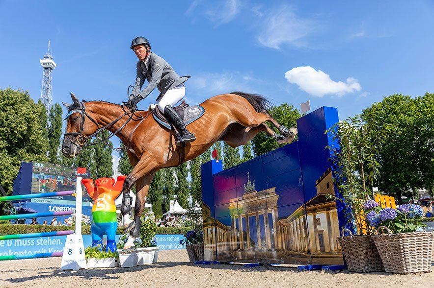 Ludger Beerbaum ist bei der Longines Global Champions Tour in Berlin am Start. © Sportfotos-Lafrentz.de