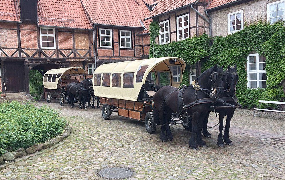 Weißt du Bescheid über die Verwendung und das Brauchtum von Arbeitspferden?