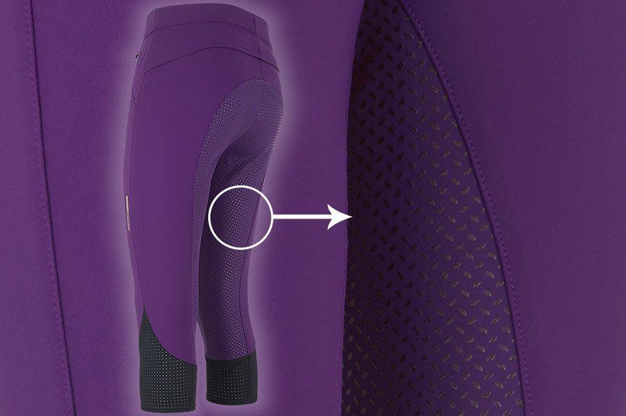 Produkt des Monats: Reithose Venti Fullgrip. Die Reithose verfügt über einen FullGrip, der nicht nur für einen sichern Sitz sorgt, sondern auch den Stoff schützt.