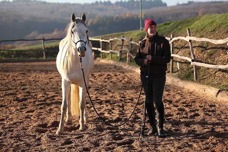 Wenn wir Menschen unsere Pferde verstehen, darauf eingehen und uns selbst klar ausrücken können, gibt es meist keine Probleme.