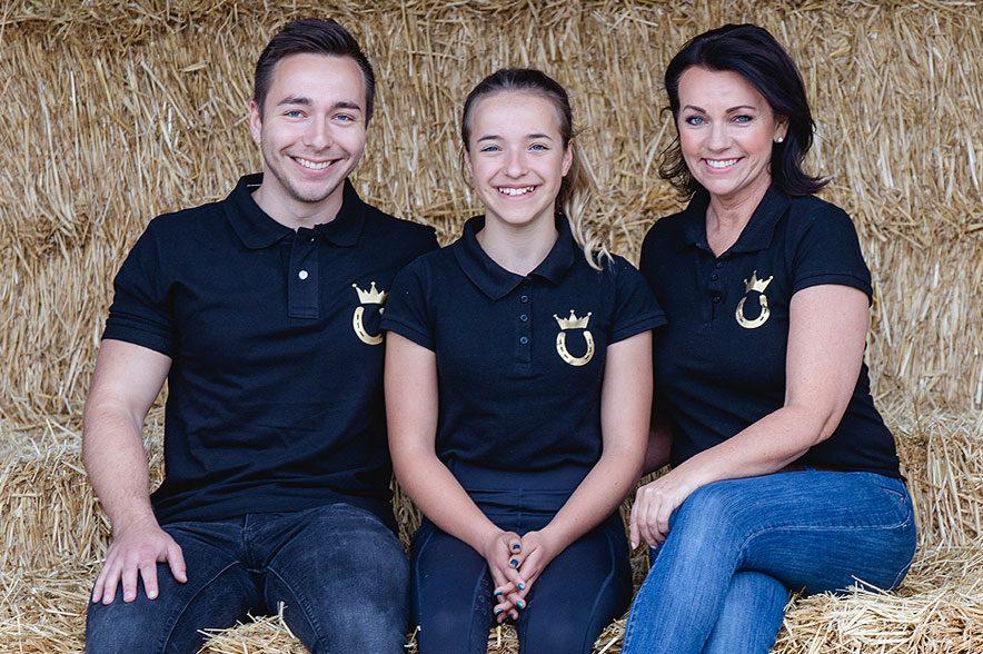 Hinter Royal Horsemen® steht ein junges Familienunternehmen das auch privat viel Wert auf Nachhaltigkeit legen. © Royal Horsemen®