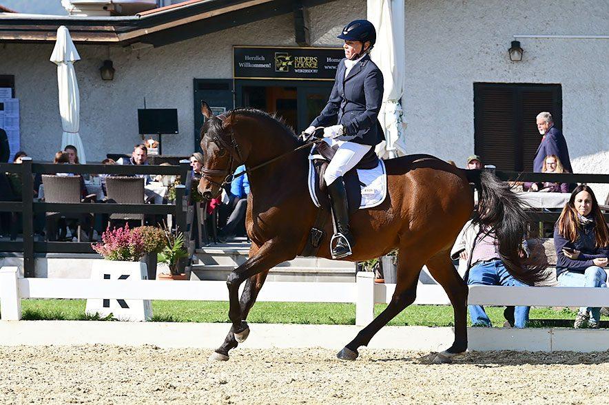 Doppelsiegerin Daniela Entner beim Spezialrassenturnier auf em HCHC. © Istvan Lehoczky