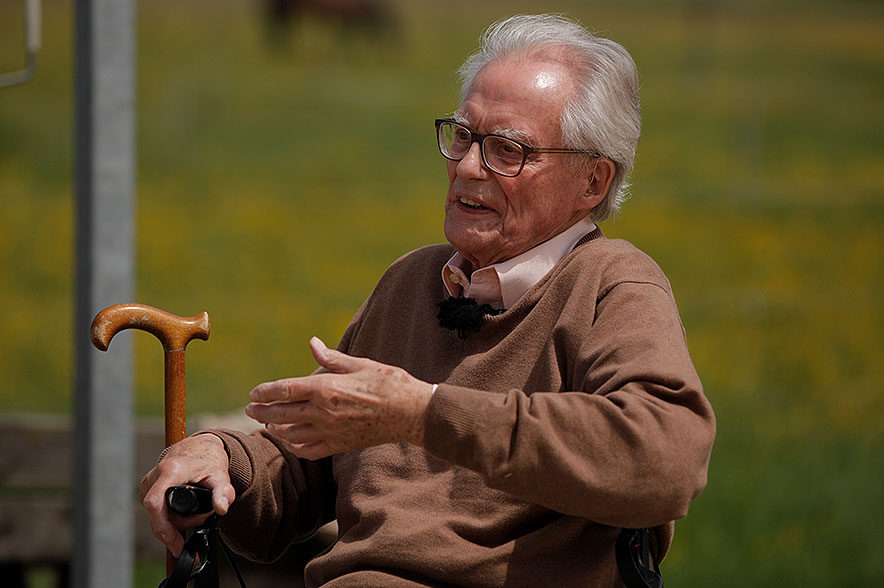 Fritz Stahlecker hat sich immer dafür eingesetzt, gängige Methoden weiterzuentwickeln.