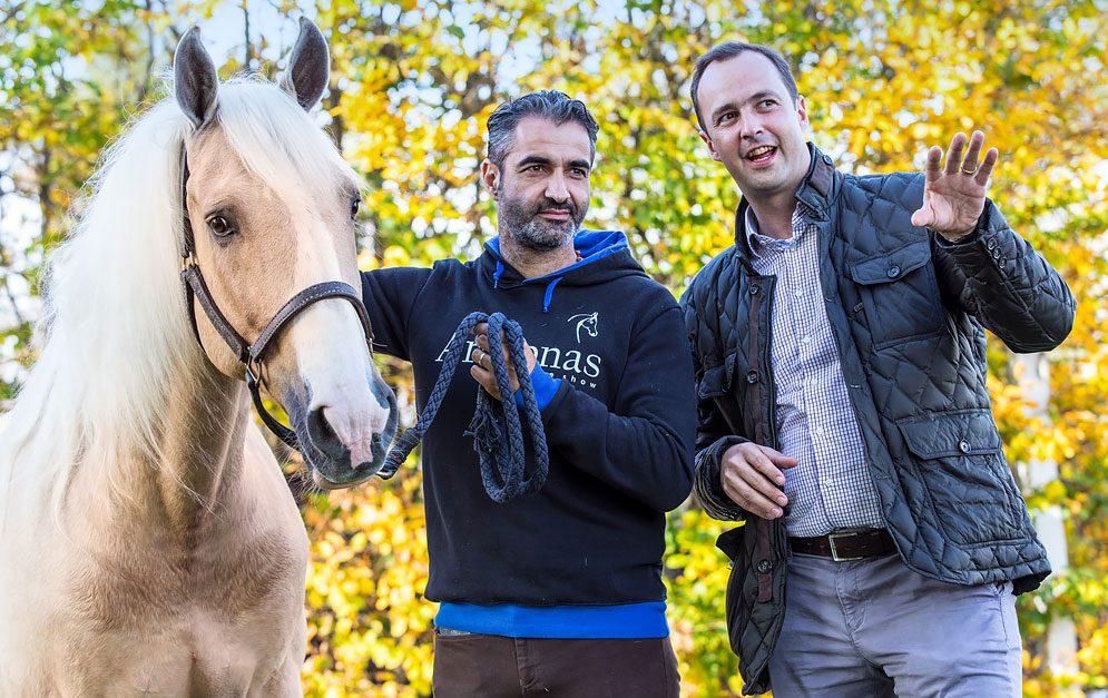 APASSIONATA - Im Gespräch mit dem Horse Consultant Bernhard Graf von Ballestrem. © APASSIONATA World GmbH