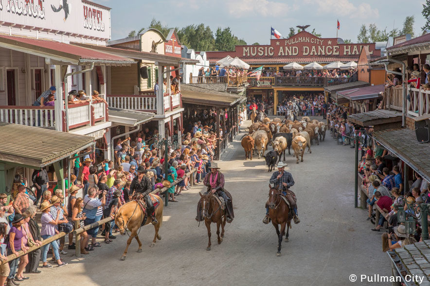Die American History Show ist das Highlight in Pullman City!