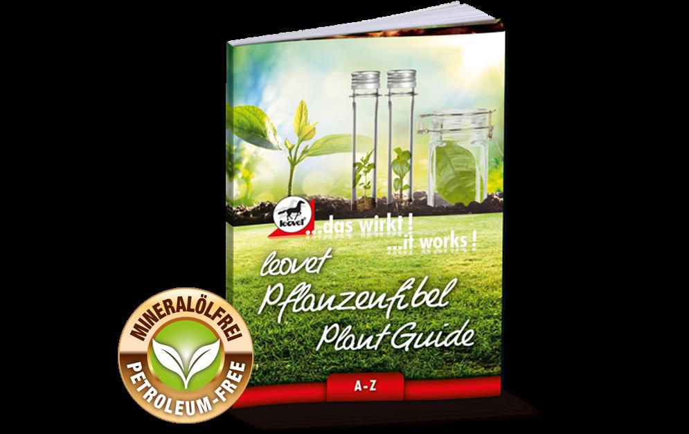 leovet gibt mit der neuen, kostenlosen Pflanzenfibel Antworten. Jeder der 67 verwendeten natürlichen Inhaltsstoffe wird erklärt – und auch, warum es so wichtig ist, auf Mineralöle zu verzichten.