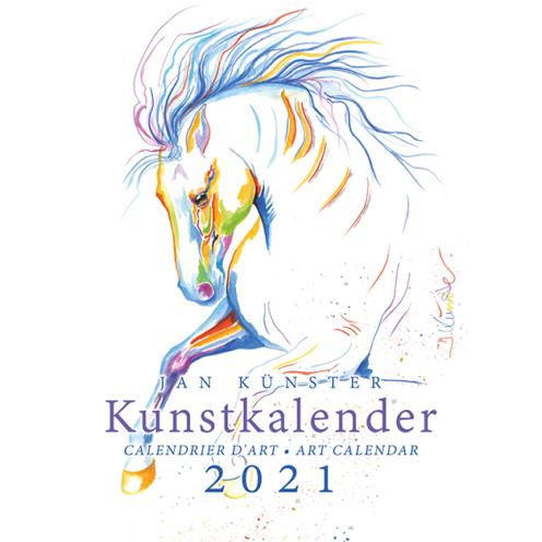 Die Darstellungen der Pferde von Jan Künster sind eine Hommage an die Vereinigung von Schönheit und Eleganz, Kraft und Bewegung.