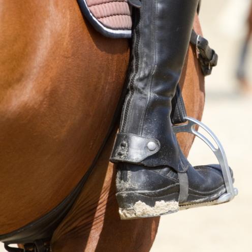Der äußere Zügel ist der wichtige! Wie du dein Pferd besser an die äußeren Hilfen und gleichzeitig fein bekommst, lernst du durch diese Übung.