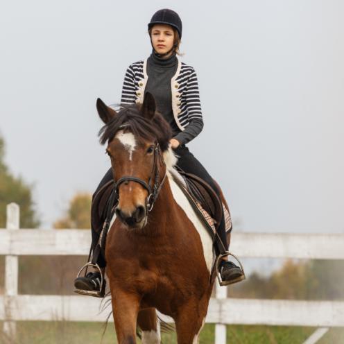 Eine leichte Vorhand macht dein Pferd mobil und das Reiten leichter. Mit dieser Übung kannst du dein Pferd wendiger machen.